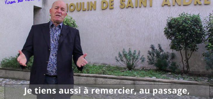 Vœux du maire de Vinon sur Verdon 2021
